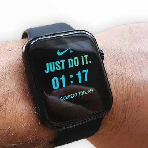 Smartwatch Iwo Max 2.0 Troca Pulseira 44mm Serie 5 Original