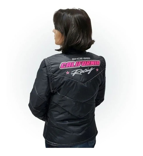 Jaqueta Feminina P/moto Tradicional California Racing Life