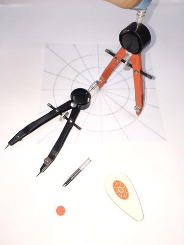 Compas Yaya De Precision Circulos Escritura Dibujo