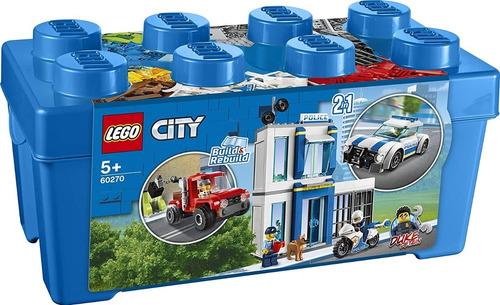 Lego City 60270 Caja De Ladrillos De Policía 301 Pzs