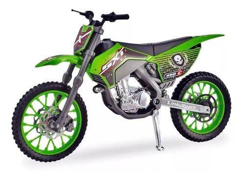 Moto De Brinquedo Motocross Pneus Borracha Usual Motinha