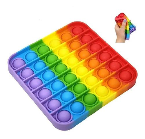 Pop It Fidget Toy Empurre Pop Bubble Fidget Sensorial Toy