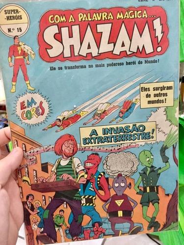 Com A Palavra Mágica... Shazam! Nº 15