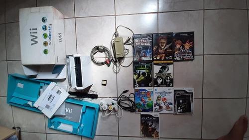 Console Nintendo Wii E Ps One Completos Com Caixa