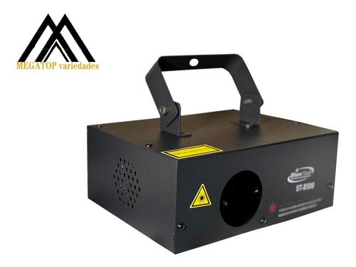 Laser Azul Led B500 500mw Bivolt Raio Dmx Auto St-b500