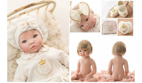 Bebê Reborn, Boneca Promoção, Menina, Prontaentrega Princesa
