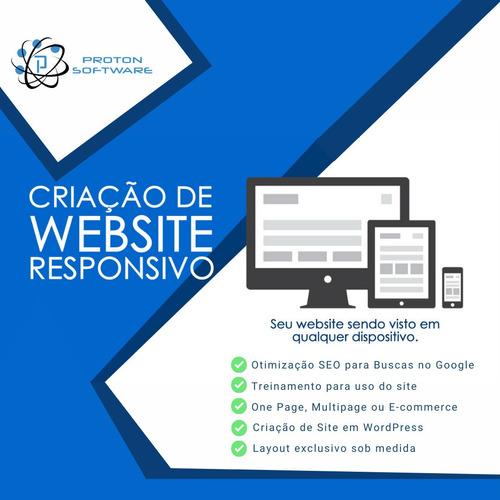 Desenvolvimento De Sites - Site Responsivos - Site Wordpress