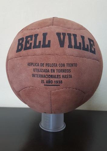 Bola Futebol De Couro Réplica 1938 Argentina Linda