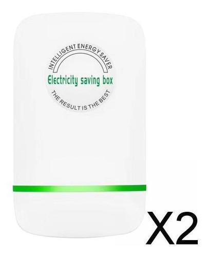2xenergy Saver Caja De Ahorro De Electricidad Hogar Oficina