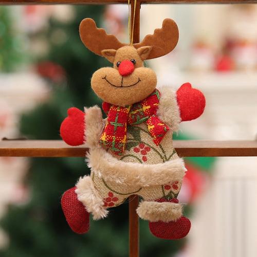 Festa De Natal Pendurado Decoração Boneco De Neve Papai Noel