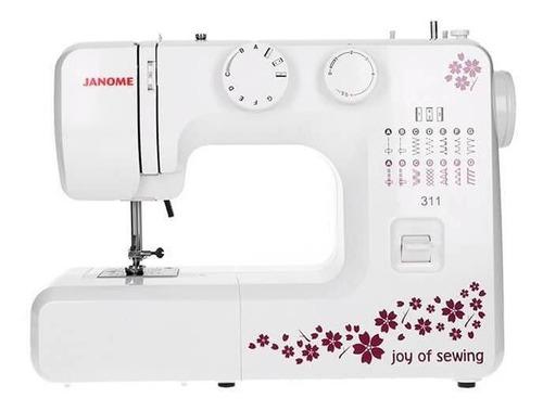 Máquina De Coser Janome 311 Blanca 220v - 240v