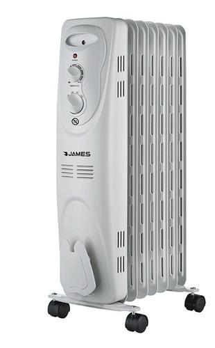 James - Radiador De Aceite 9 Elementos 2000w Blanco Bigsale