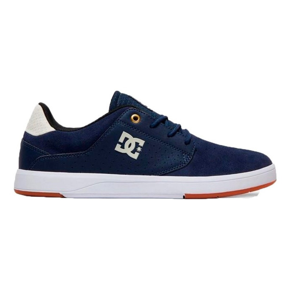Zapatillas Dc Lifestyle Hombre Plaza Azul Marino Ras