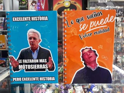 Cuaderno Personalizado Memes Politicos