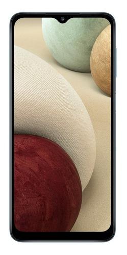 Smartphone Samsung Galaxy A12 Tela 6.5 64gb 4gb Ram Azul