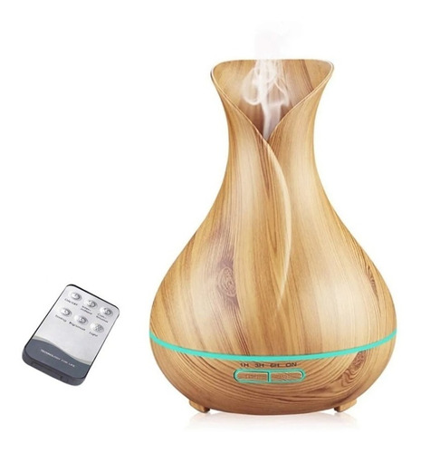 Difusor Aromatizador Umidificador Ultrassônico 400ml Tulipa
