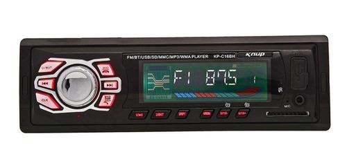 Som Automotivo Knup Kp-c16bh Com Usb, Bluetooth E Leitor De Cartão Sd