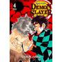 Mangá Demon Slayer ( Kimetsu No Yaiba ) Nº 4