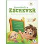 Livro Aprendendo A Escrever Cartilha De Alfabetização