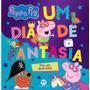Livro Pop´up Peppa Pig Um Dia De Fantasia Lançamento!