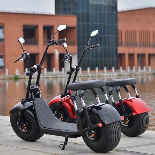 Luxuoso Scooter Elétrico Patinete 2000w 21.8ah Power