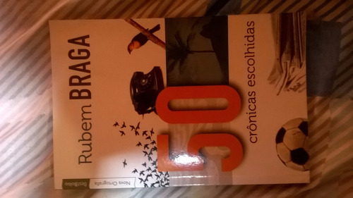 Livro 50 Crônicas De Rubem Braga
