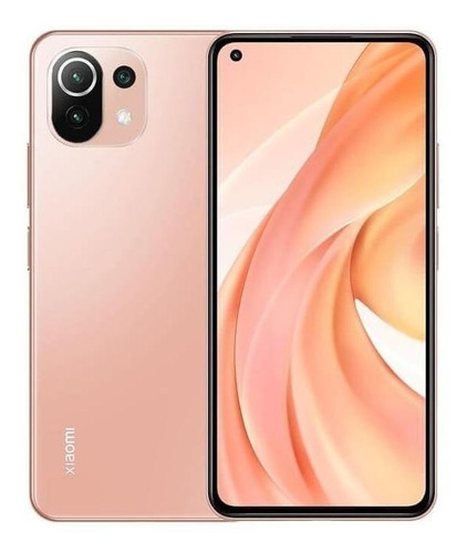 Xiaomi Mi 11 Lite Dual Sim 128 Gb Peach Pink 6 Gb Ram