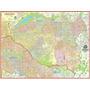 Mapa Gigante Da Zona Leste De São Paulo 120 X 90cm