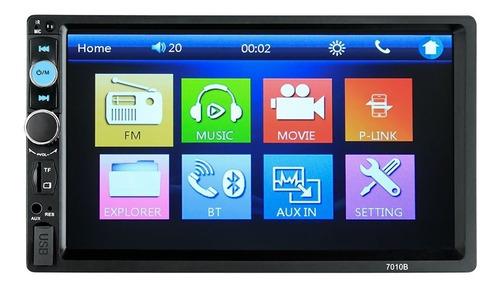 Radio Automotivo 2 Din Multimidia Bluetooth Usb Sd Tela 7