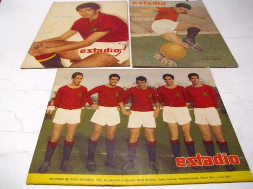 Union Española. Revista Estadio, 1955 1961(3)