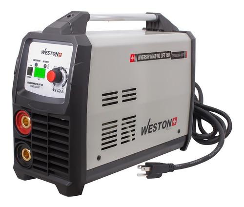 Soldadora Inverter Weston Tools Z-67010 110v/220v