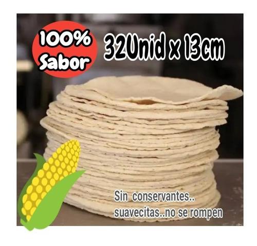 Tortillas Maiz 15cm Para Tacos Aute - Unidad a $297