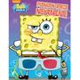 Livro 3d Bob Esponja Plankton Ataca Novamente