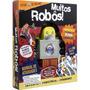Livro Brinquedo Muito Robos