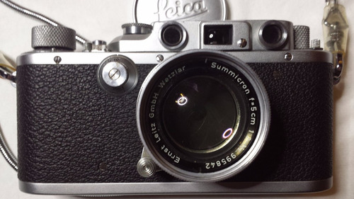 Máquina Fotográfica Leica Excepcional Nova