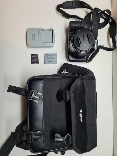 Câmera Fotográfica Canon Powershot Sx530 Hs Compacta Flash