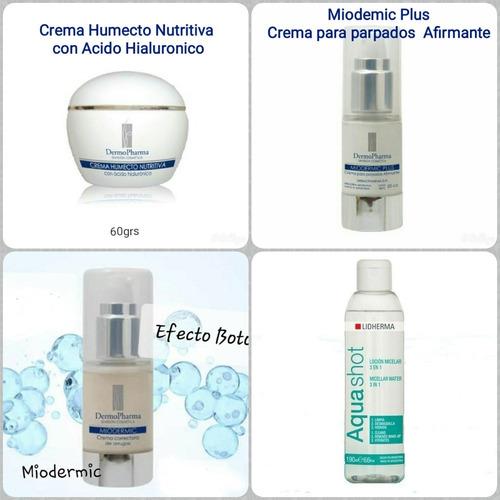 Kit X4 Cremas Antiedad Y Efecto Botox - Envio Gratis!!