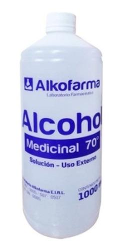Alcohol Medicinal De 70ª 1000ml Alkofarma 986063294