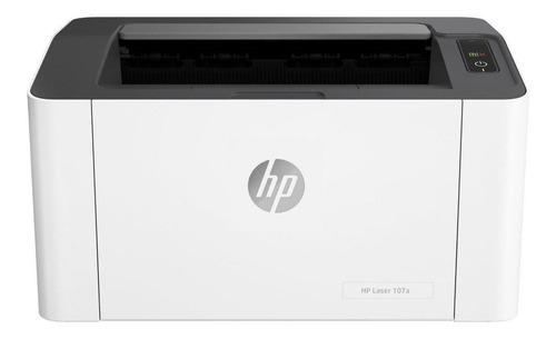 Impressora Função Única Hp Laserjet 107a Branca E Preta 110v - 127v