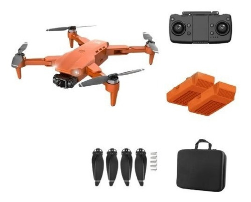 Drone L900 Pro 4k Gps Motor Brushless + Case E 2 Baterias