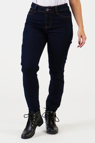 Calça Jeans Motociclista Corse Kevlar City Feminino Azul