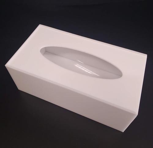 Porta Lenços De Papel Ou Interfolhas, Branco, Preto, Cristal