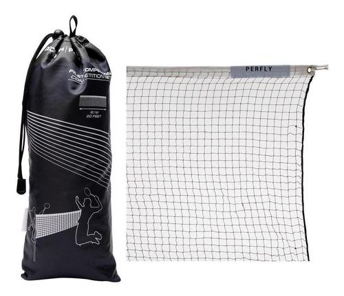 Rede De Badminton Competition - Cor Branco-vinho