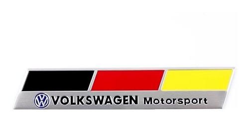 Emblema Vw Alemanha Jetta Golf Amarok Gol Fox Tsi Gti !!