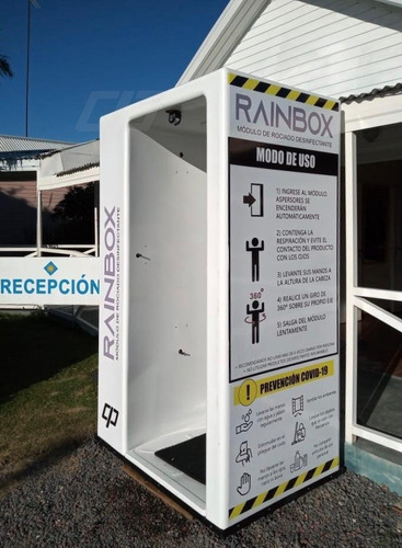 Cabina Túnel Desinfectante Sanitizante, Oferta T. Limitado!