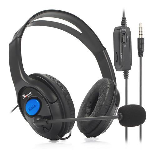 Fone Headset Gamer P2 Para Pc Notebook Ps4 Xbox One Celular