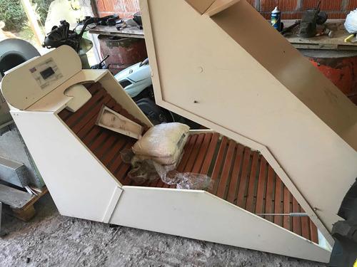 Cabina Spa Ozono Sauna Nuevaa!! Mínimo Detalles Líquido!!!