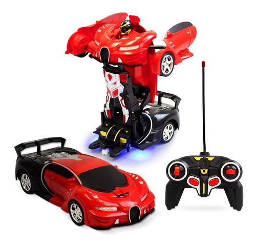 Carrinho De Controle Remoto Carro Robo Bateria Recarregavel