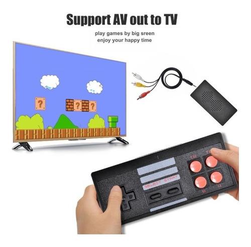 Mini Consola Retro Clásica 620 Juegos En 1 Av 2 Controles