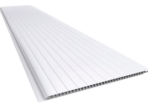 Cielo Raso De Pvc Blanco - Tabla 3 Mt X 20cm